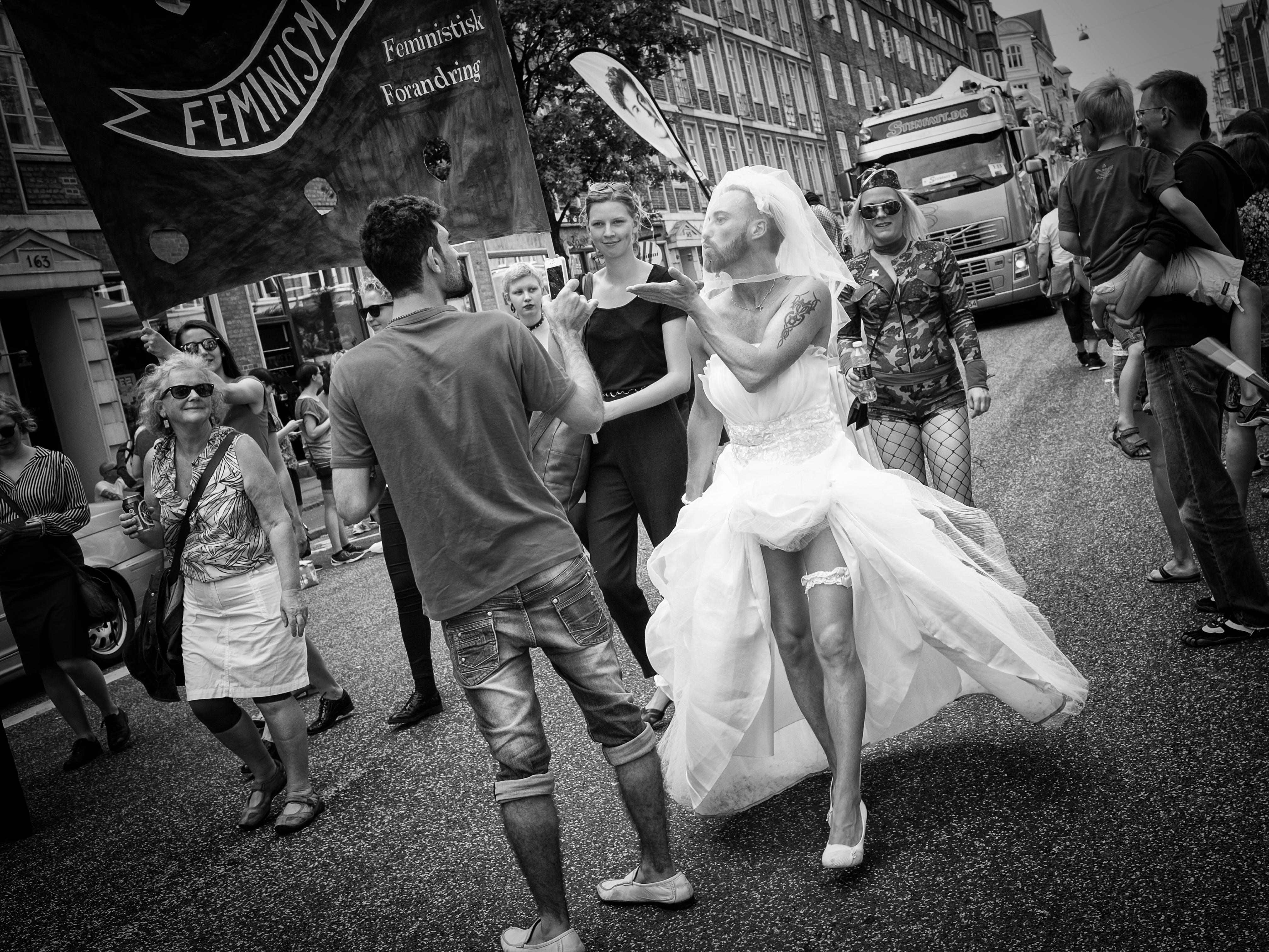 Femenistisk Forandring femenister gaypride gay pride fest